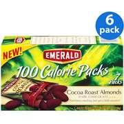 Emerald Dark Chocolate Cocoa Roast Almonds 100 Calorie Packs, 7 ct