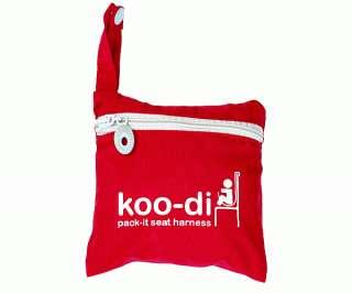 KOO DI PACK IT BABY SEAT HARNESS feeding travelling BN