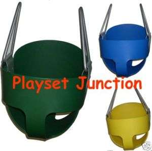 TODDLER SWING SEAT   FULL BUCKET SWING SET KIDS BABY INFANT SWINGS