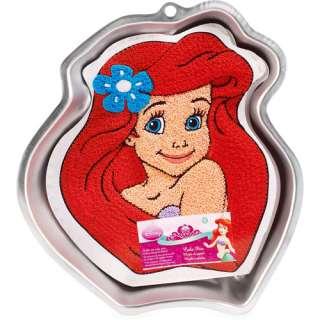Disney Princess Ariel Cake Pan, Aluminum Party Supplies