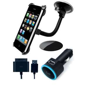 iLuv Windshield Mount Kit for iPod/iPhone Cell Phones