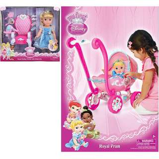 Disney Princess Cinderella 15 doll with Royal Styling Throne and 7