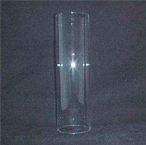 3X10 Glass Cylinder Tube Candle Holder Light Lamp Shade