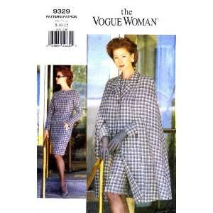 Vogue 9329 Sewing Pattern Womens Cape and Dress Size 8   10   12 Bust