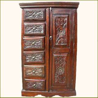 Lastest Solid Wood Computer Armoire