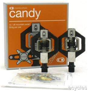 Crank Brothers Candy 3 Black   Mountain Bike Pedals   NEW 641300114938