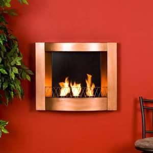 Sante Fe Wall Mount Gel Fuel Fireplace, Wall Mount Gel Fuel Fireplace
