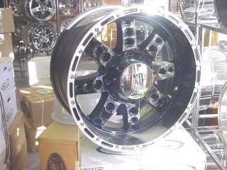 18X9 BLACK XD SERIES DIESEL CHEVY DODGE RAM WHEELS