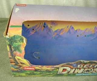 1980s Playskool Definitely Dinosaurs Apatosaurus with Box & Kronar