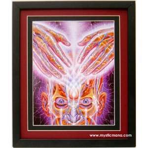 Light Weaver By Alex Grey ,Framed & Double Matted 12x15