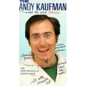 Andy Kaufman Special [VHS] Andy Kaufman, Cindy Williams