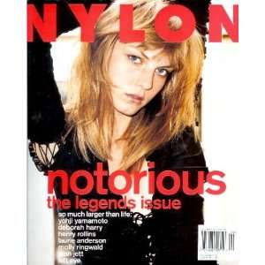 Nylon Magazine   September 2001: Angela Lindvall, Lisa Left Eye Lopes