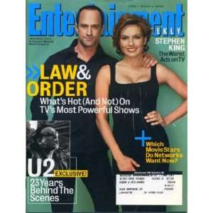Entertainment Weekly March 4 2005 Mariska Hargitay, Christopher Meloni