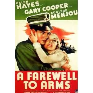 (27 x 40 Inches   69cm x 102cm) (1932)  (Helen Hayes)(Gary Cooper