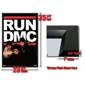 Framed Run DMC Jam Master Jay Poster Old School Hip Hop