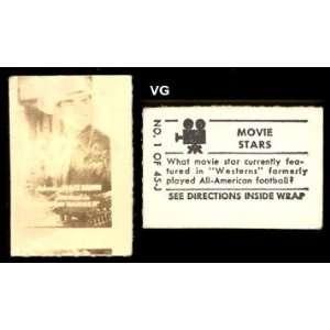 magic movie stars (Non Sports) Card# 1 johnny mack brown VG Condition