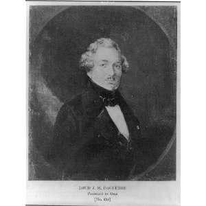 Louis Jacques Mande Daguerre,1789 1851,French chemist