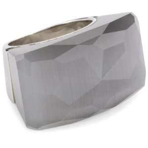 Nicky Hilton Bryant Park Silver Cats Eye Color Stone Ring, Size 7
