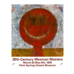 20th Century Mexican Masters by Rufino Tamayo 23x26: