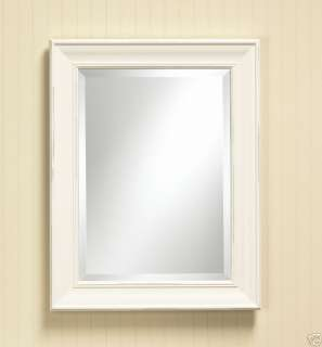 Cream Framed Bathroom Vanity Decorative Mirror NEW 121