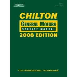 CHILTON 2008 GENERAL MOTORS SERVICE MANUAL 666865322116