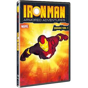 Iron Man Armored Adventures   Season 2, Volume 1