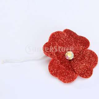 Cocktail Wedding Prom Party Bride Bridal Flower Head Hair Pin #03622