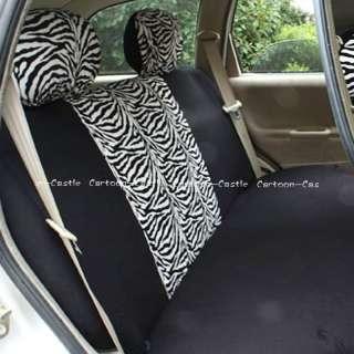 Hello Kitty Auto Car Front Rear Seat Cover Coat Zebra