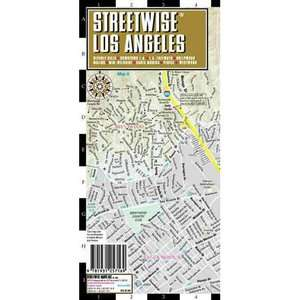 Streetwise Los Angeles Map   Laminated City Street Map of Los Angeles