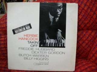 JAZZ LP HERBIE HANCOCK Takin Off HUBBARD GORDON WARREN HIGGINS Blue