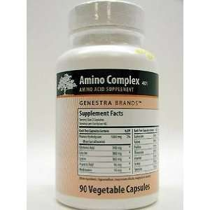 Amino Complex 90 Vegetable Capsules: Health & Personal