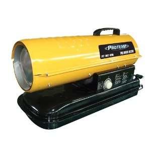 Protemp 70,000 BTU Fan Forced Kerosene Heater with Thermostat PT 70T