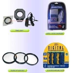 Digital & Film SLR Macro Lighting Kit Ring Light Flash