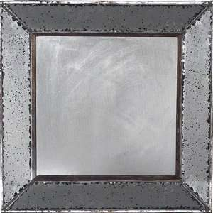 Antique Look Frameless Wall Mirror 12x12