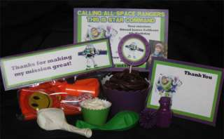 Toy Story Birthday Party Invitations Digital Package