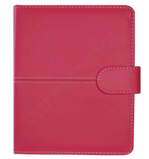 KINDLE 4 4TH GENERATION PREMIUM HOT PINK LEATHER POUCH CASE COVER