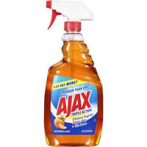 Ajax Triple Action Multi Purpose Cleaner, 32 oz Household Essentials