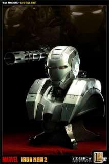 Sideshow Iron Man 2 War Machine 11 Life Size Bust