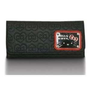 Loungefly Hello Kitty Black Check Book Wallet Toys
