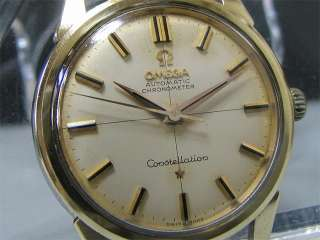 Vintage 1960s OMEGA Automatic watch [Constellation] Chronometer Cal