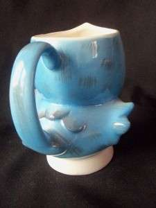 SIGNED GEO Z LEFTON 284 BLUEBIRD BLUE BIRD CHILDS DISH CUP MUG