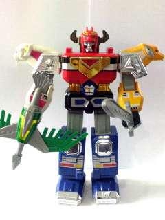 Rare Bandai Gingaman Power Rangers Megazord Gingaioh Robot