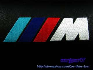 BMW M Power Logo Belt Pad & Headrest Cushion Kit