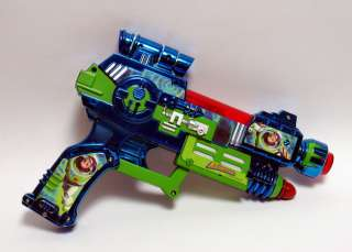 Disneys Buzz Lightyear, Pretend Laser Gun Lights up, Makes noise