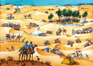 1500 pieces HEYE PUZZLE  Paris Dakar   NEW