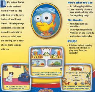 Fisher Price ime o Play Pe Shop PC CD care for dogs fish grooming
