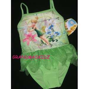 Tinkerbell High Flyer Tu tu Swimsuit Bathing Suit Baby
