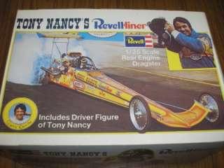 REVELL LINER TONY NANCY DRAGSTER MODEL KIT 1/25 CAR