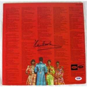 Paul Mccartney Beatles Signed Sgt Peppers Album Psa/dna   Sports