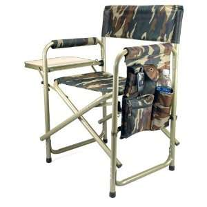 Portable Folding Sports Chair, Camouflage Patio, Lawn